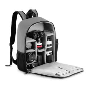 CADeN Waterproof Camera Bag with Laptop Compartment