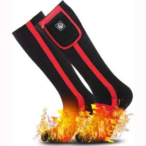 Heated Socks for Women Men,Foot Warmers Electric Rechargable Battery Heating Socks,Winter Cold Feet Hunting Ski Camping Hiking Riding Motorcycle