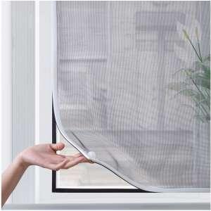BafloTEX Adjustable Magnetic Window Screen 72 x 48 Inches