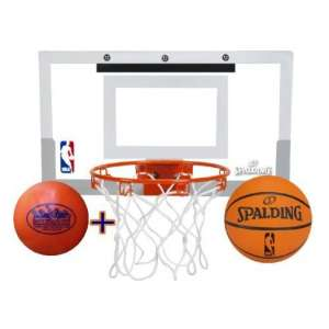 Spalding Deluxe NBA Slam Jam 4 Vinyl Mini Basketball Hoop