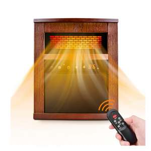 TRUSTECH Electric Space Heater 1500W 3 Heat Modes