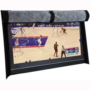 """BroilPro Accessories Outdoor 40""""-43"""" TV Set Cover,Scratch Resistant Liner Protect LED Screen Best-Compatible"""