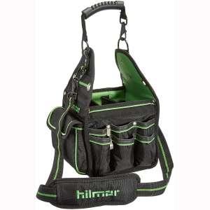 Hilmor HVAC:R Tote, HVAC Bag for Tools & Equipment, Black & Green, HT 1839078