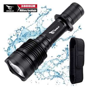WISSBLUE H1 Rechargeable Tactical LED Flashlight