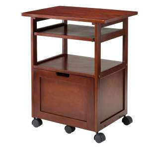 Winsome Piper Home Office Wood Printer Stand