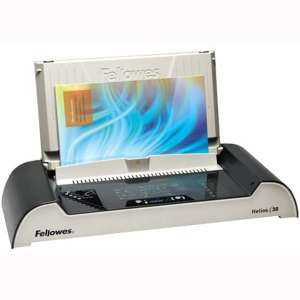 Fellowes Binding Machine Helios 30 Thermal (5219301),Charcoal Metallic:Silver