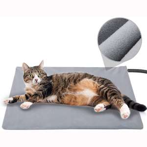 Pet Heating Pad for Cat Dog,Soft Electric Blanket Auto Temperature Control Waterproof Indoor