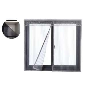 Liveinu Reinforced Magnetic Window Screen 31 x 39 Inches