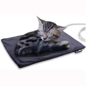 Pecute Pet Heating Pad Low Voltage Safe Electric Heating Pet Mat for Dogs and Cats Warming Mat