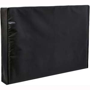 AmazonBasics Outdoor Waterproof and Weatherproof TV Cover - 50 to 52 inches