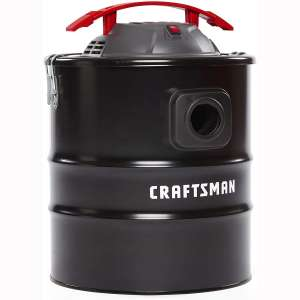 CRAFTSMAN CMXEVBE17585 5 gallon 3 Peak Hp Ash Vacuum with Attachments