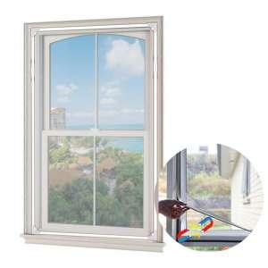 MeeHe 59 x 39 Inches Adjustable Magnetic Window Mesh