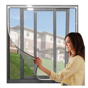CGJ 71 X 43 Inches DIY Magnetic Window Screen