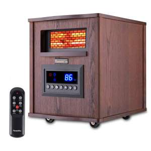 FLAMEMORE 12HR Timer Infrared Portable Space Heater