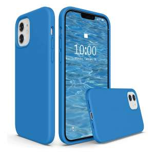 SURPHY Silicone Case 6.1 Inches for iPhone 12 Pro