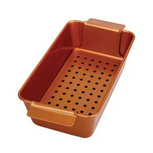Volar Non-Stick Meatloaf Pan with Removable Tray
