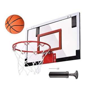 COLIBROX Wall Mount Mini Basketball Hoop