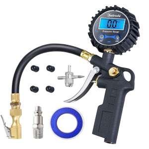 AstroAl Digital Tire Inflator 250 PSI Pressure Gauge