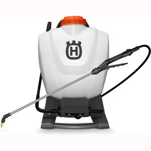 Husqvarna 4 Gallon Backpack Sprayers, White