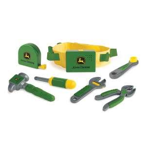 TOMY John Deere Deluxe Talking Toddler Tool Belt Preschool Toy