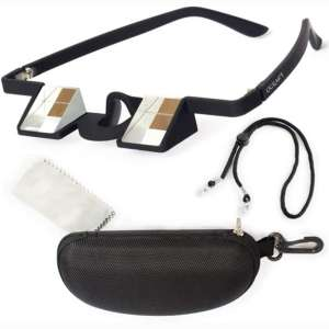 Ucraft Climbing Belay Glasses. 1.34Oz:38g Prismatic Googles. Strong ABS Plastic, High Transparency