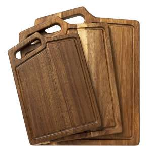 HBlife Extra Thick Acacia Wood Cutting Board