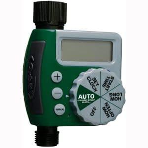 Orbit 62061Z Single-Outlet Hose Watering Timer, 1, Green