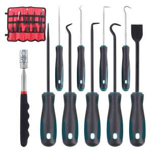 Glarks 10 In 1 Heavy Duty Pick and Hook Sets