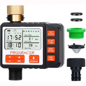 Water Timer Electronic Multi Smart Single-Outlet Water Hose Timer Outdoor Waterproof Automatic On Off Programmable Controller