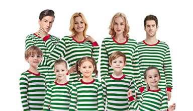 CoralBee Matching Family Pajamas