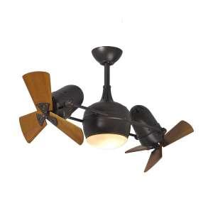 """Matthews Textured Bronze Dual 41"""" Ceiling Fan"""