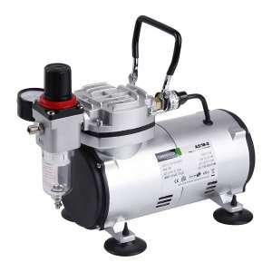 TIMBERTECH AS18-2 Basic Mini Airbrush Compressor