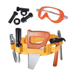 Maxx Action 22 Piece Deluxe Tool Belt Pretended Play Toy Set for Kids