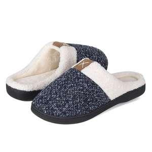 WateLves Women's Memory Foam House Slippers