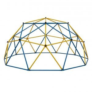 Albott Geometric 10' x 5' Dome Climber- Safe for 1 to 6 Kids Climbing