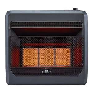 Bluegrass Living B30TNIR-BB Natural Gas Wall Heater