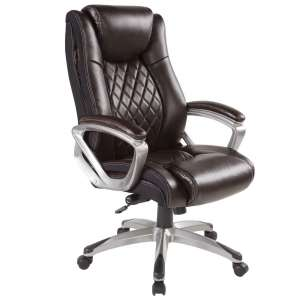 Bowthy Adjustable Swivel Leather Chair