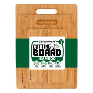 Freshware Bamboo Cutting Boards for Kitchen