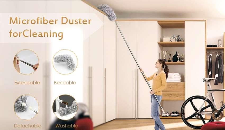 Long Extendable Duster