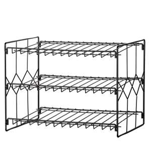 Collections Etc Can Storage Organizer Rack