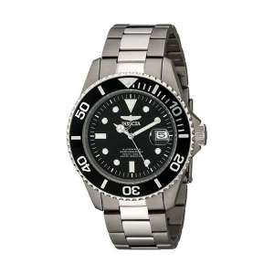 Invicta 0420 Men's Pro Titanium Diving Watch