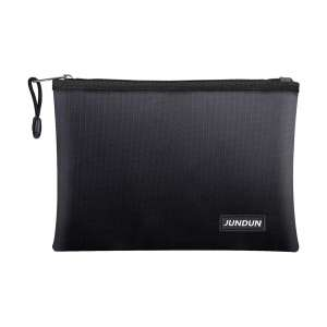 JUNDUN Fireproof Document Storage Bag with Money Bag Safe Storage
