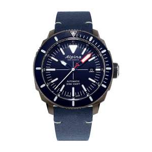 Alpina AL-525LNN4TV6 Men's Titanium Diving Watch