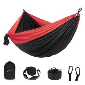 Btrwor Hammock Camping Double with 2 Tree Straps