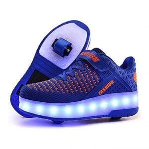 Qneic USB Roller Skate Shoes