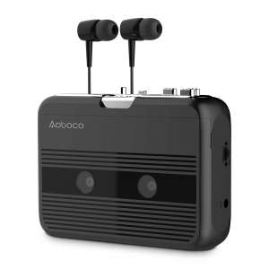 AOBOCO Bluetooth Transmitter/Receiver Cassette Players