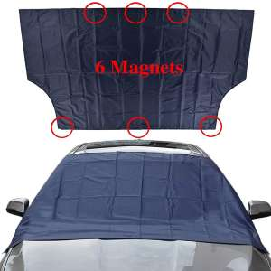 Sunny color TMA-1 Magnetic Windshield Snow Cover