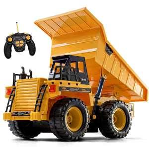 Top Race RC Construction Dump Truck