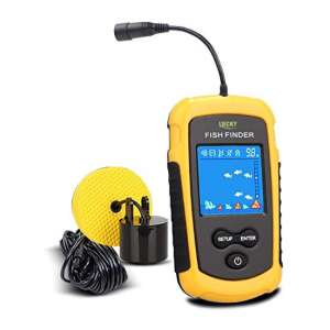 LUCKY Handheld and Portable Fish Finder, LCD Display