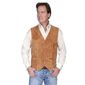 Scully Leather Vest for Men